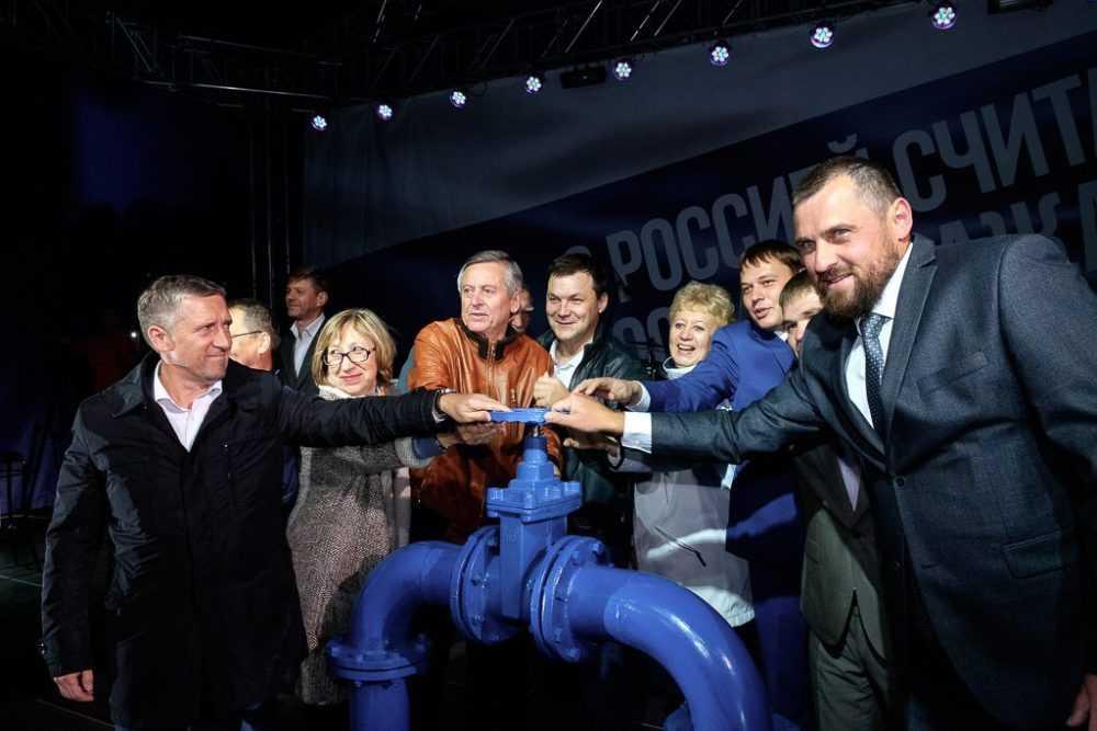 В Первоуральске после капитального ремонта торжественно открыли  фонтан