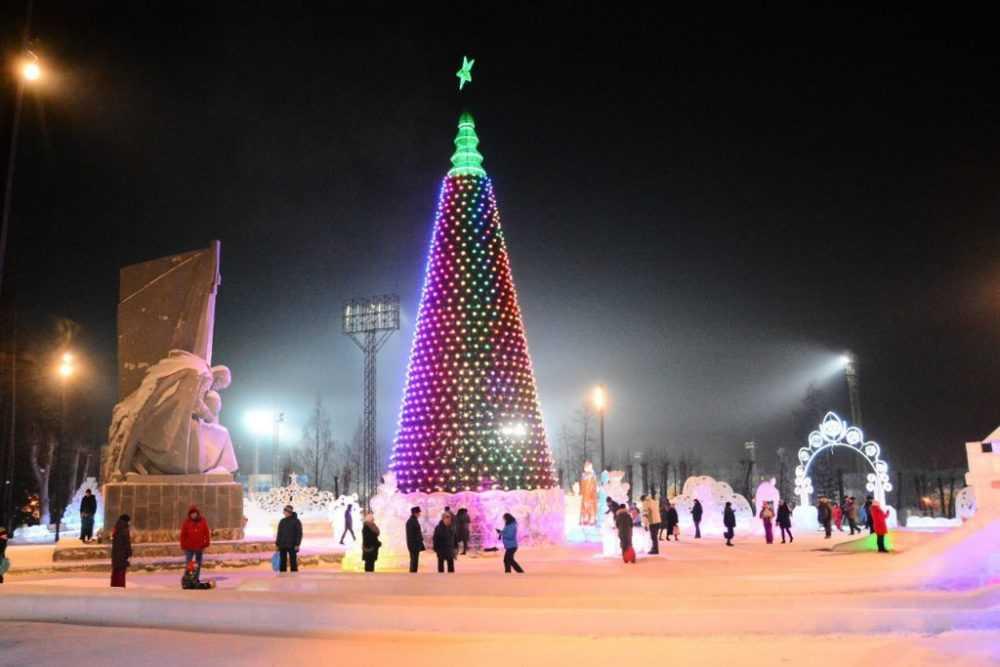 Главную елку Первоуральска увидели более 35 тысяч человек
