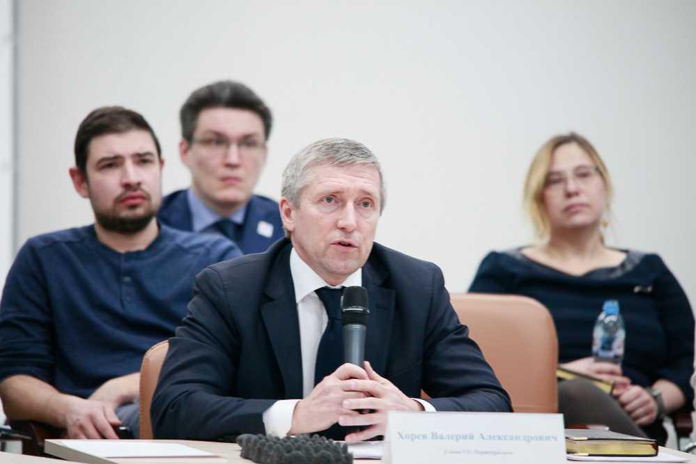 Валерий Хорев публично обсудил программу и проект стратегии развития Первоуральска