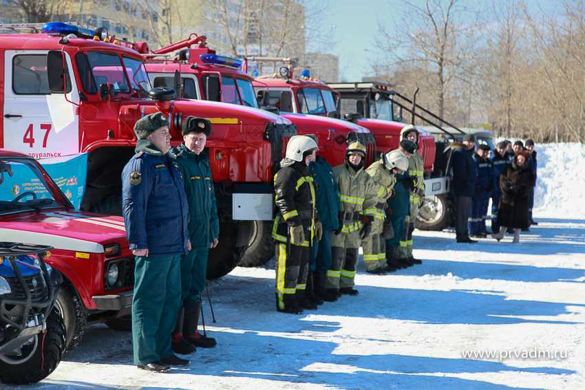 Первоуральские спасатели продемонстрировали свою готовность