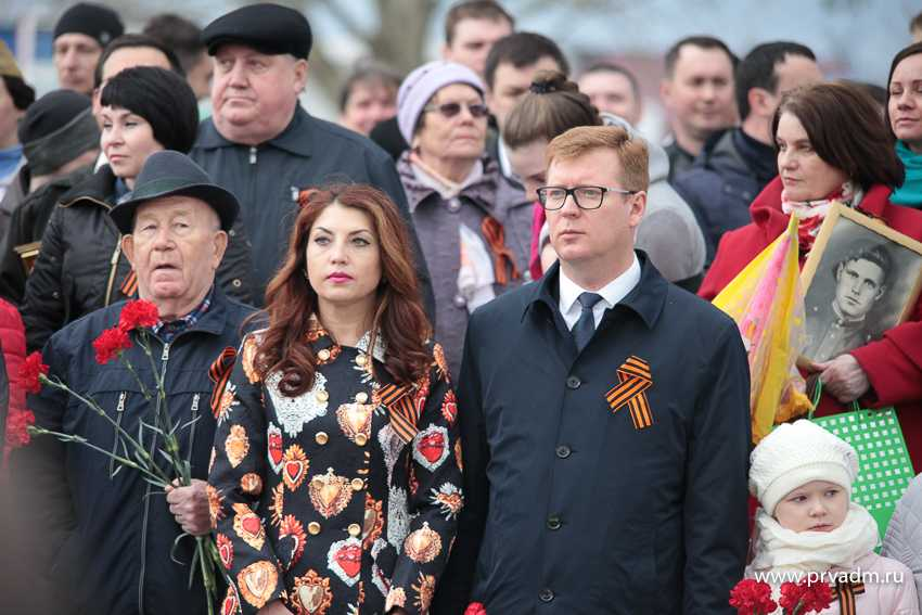 Игорь Кабец принял участие в торжественном митинге ко Дню Победы