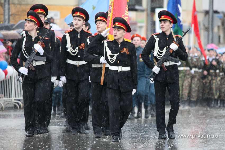 В Первоуральскесостоялся парад посвященный 73-ей годовщине со Дня Победы