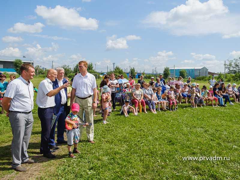 Более тысячи человек отпраздновали День поселка в Вересовке