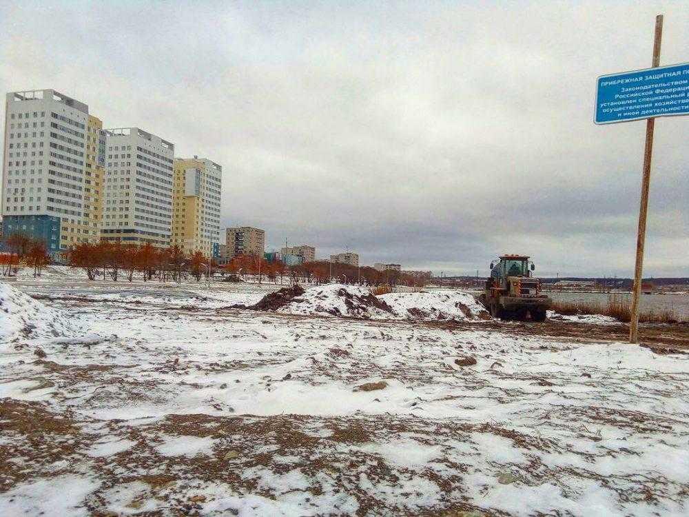 Реконструкция набережной проходит без нарушения технических норм
