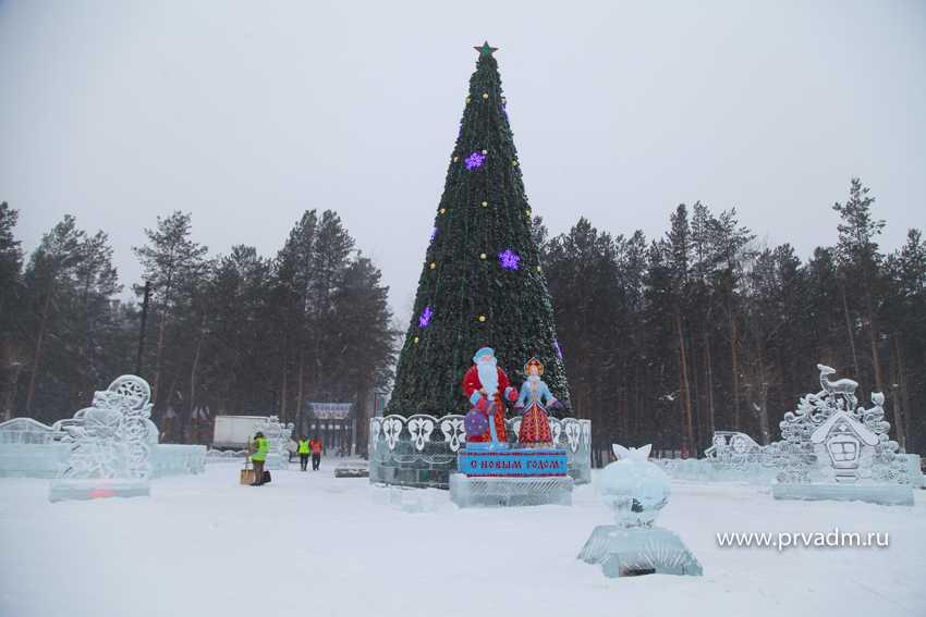 Комиссия проверила главный новогодний городок в Первоуральске