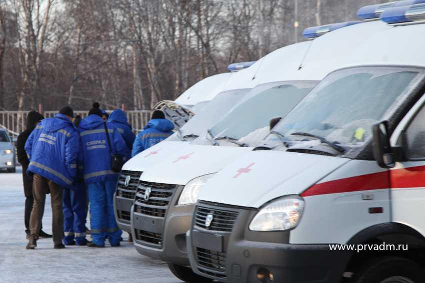 Три новые машины скорой помощи – в Первоуральске