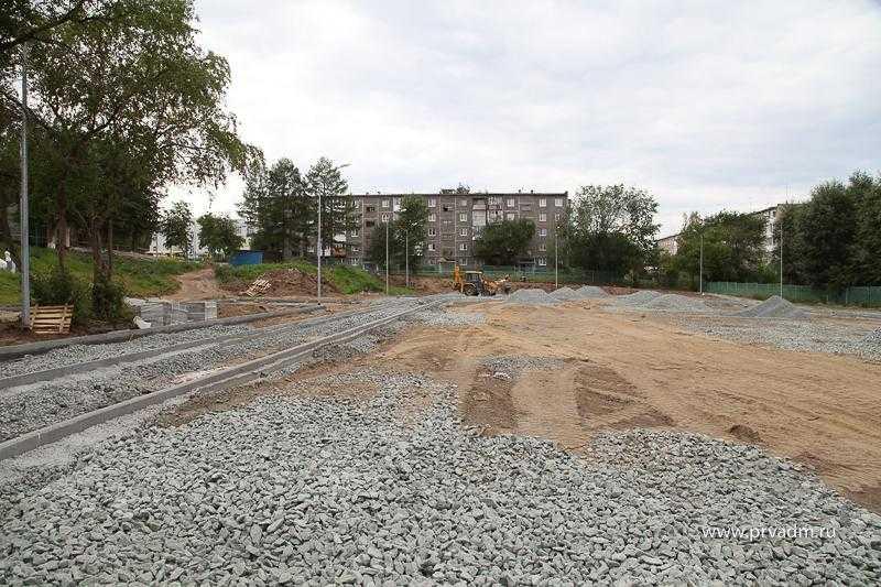 В Первоуральске строят стадион для будущих обладателей золотых значков ГТО