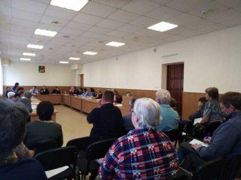 Собрание председателей садовых некоммерческих товариществ, садоводческих (дачных) объединений городского округа Первоуральск