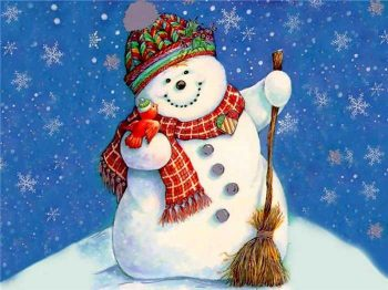 С днем рождения, Снеговик