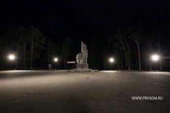 В городском парке завершен второй этап работ по освещению территории