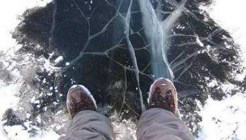 Осторожно: тающий лед!