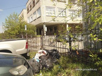 Из города дополнительно вывезли 196 кубометров мусора