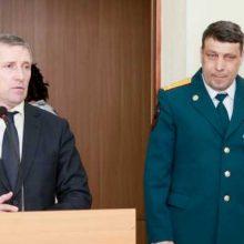 Валерий Хорев вручил медали «XXV лет МЧС России»