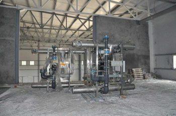 На насосно-фильтровальной станции в Первоуральске приступили к монтажу оборудования