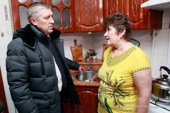 Валерий Хорев решил вопрос обеспечения 90 первоуральских семей горячей водой