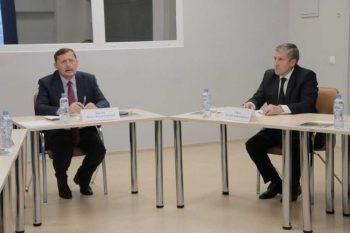 Заместитель Губернатора Павел Креков провёл рабочую встречу в Первоуральске