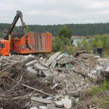 В Первоуральске ликвидируют несанкционированные свалки мусора