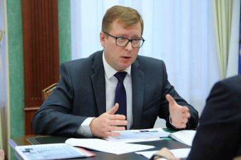 Игорь Кабец презентовал губернатору проекты развития Первоуральска