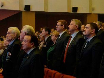 Игорь Кабец принял участие в церемонии, посвященной юбилею Свердловской области