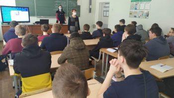 Открытый урок в «Первоуральском политехникуме» по пожарной безопасности