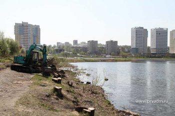 Набережная Нижнего пруда: преображение продолжается
