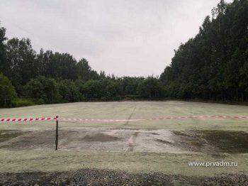 В поселке Хрустальная под Первоуральском обустроили разворотную площадку по просьбе жителей