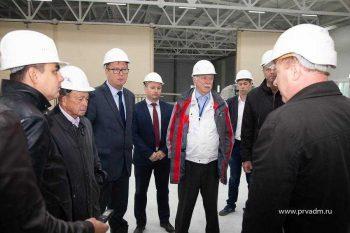 Глава Первоуральска провел экскурсию для депутатов по строящейся насосно-фильтровальной станции
