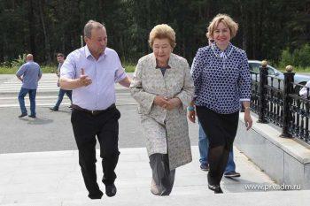 Наина Иосифовна Ельцина посетила Первоуральск