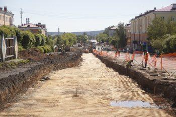 На проспекте Ильича ведутся подготовительные работы для расширения проезжей части