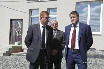 Вице-губернатор проинспектировал строительство жилищного комплекса «Оптимист»