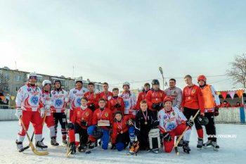 Сборная команды Администрации открыла хоккейный сезон