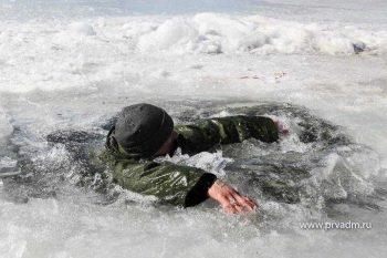 Первоуральские спасатели предупредили об опасности весеннего льда