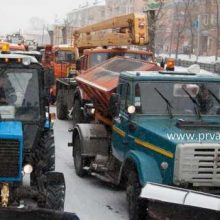 В Первоуральске вновь пройдет парад коммунальной техники