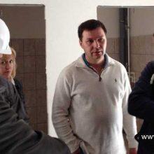 Алексей Дронов проинспектировал строительство дома для переселенцев из ветхого и аварийного жилья