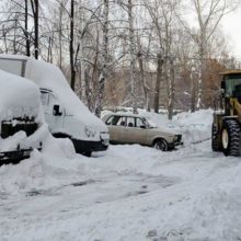 Снежным валам во дворе не место