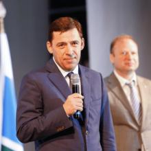 Глава региона Евгений Куйвашев прибыл с визитом в Первоуральск