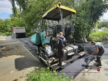 Завершается ремонт еще нескольких межквартальных проездов