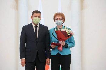 Первоуральскому пульмонологу Марине Приваловой вручилигосударственнуюнаграду