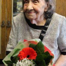 Жительнице Первоуральска Галине Гасиловой вручили медаль «75 лет Победы» в день 100-летнего юбилея