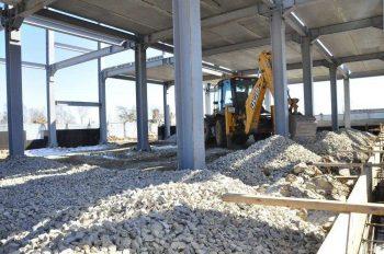 Строительство ФОКа в поселке Билимбай возобновилось