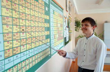 Первоуральский выпускник Андрей Чернявский набрал на ЕГЭ 100 баллов по физике и химии