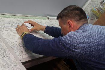 Администрация города продолжает установку пожарных извещателей