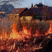 Пожароопасный период в разгаре