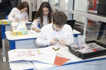 В 28 школе открылись современные кабинеты технологии