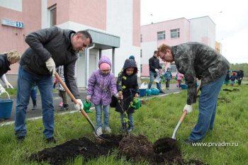 Администрация Первоуральска продолжает традицию по озеленению города