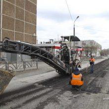 В Первоуральске начался ямочный ремонт дорог