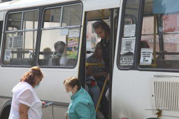 Рейды по соблюдению масочного режима в общественном транспорте проходят в Первоуральске ежедневно