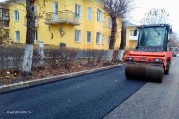 Управление ЖКХ проинспектировало ремонт дорог на улице Папанинцев