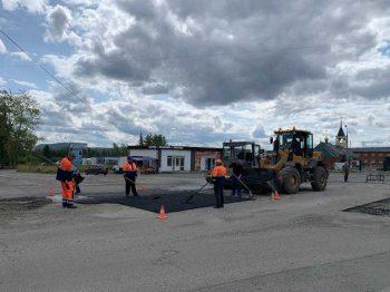 В Первоуральске завершается ямочный ремонт дорог