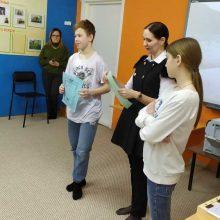 Встреча с воспитанниками Первоуральской школы – интерната.